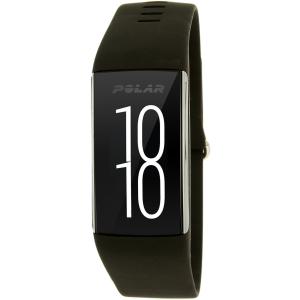 Polar Men's A360 90057535 Black Silicone Quartz Watch
