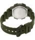 Casio Men's AE1000W-3AV Green Rubber Quartz Watch - Back Image Swatch