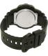 Casio Men's AEQ100W-1AV Black Resin Quartz Watch - Back Image Swatch