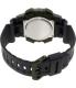 Casio Men's Sports AEQ110W-2AV Purple Rubber Quartz Watch - Back Image Swatch