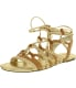 Bcbgeneration Women's Finlyn Leather Ankle-High Leather Sandal - Main Image Swatch