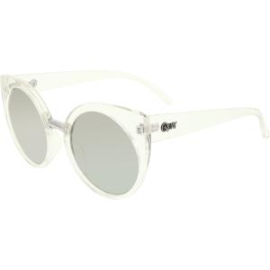 Quay Women's Mirrored China Doll QW-000013-CLR/SLV Clear Cat Eye Sunglasses