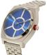 Nixon Men's Time Teller SW R2D2 Blue A045SW2403 Silver Stainless-Steel Quartz Watch - Side Image Swatch