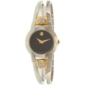 Movado Women's 0606894 Silver Stainless-Steel Swiss Quartz Watch