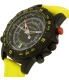 Nautica Men's NAD21000G Yellow Silicone Quartz Watch - Side Image Swatch
