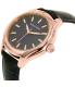 Nautica Women's NAD12002M Blue Leather Quartz Watch - Side Image Swatch
