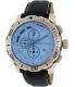Nautica Men's NAD19519G Blue Leather Quartz Watch - Main Image Swatch