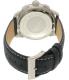 Nautica Men's NAD19519G Blue Leather Quartz Watch - Back Image Swatch