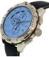 Nautica Men's NAD19519G Blue Leather Quartz Watch - Side Image Swatch