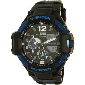 Casio Men's G-Shock GA1100-2B Black Rubber Quartz Watch