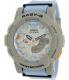 Casio Women's Baby-G BGA185-2A Blue Rubber Quartz Watch - Main Image Swatch