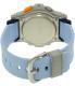 Casio Women's Baby-G BGA185-2A Blue Rubber Quartz Watch - Back Image Swatch