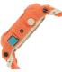 Casio Women's Baby-G BGA185-4A Peach Rubber Quartz Watch - Side Image Swatch