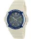 Casio Men's G-Shock AWGM100SWB-7A White Rubber Quartz Watch - Main Image Swatch