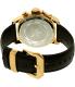 Invicta Men's I-Force 20135SYB Black Leather Quartz Watch - Back Image Swatch