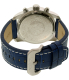 Invicta Men's Pro Diver 21475 Blue Leather Swiss Chronograph Watch - Back Image Swatch