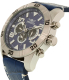 Invicta Men's Pro Diver 21475 Blue Leather Swiss Chronograph Watch - Side Image Swatch