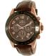 Invicta Men's Speedway 10712 Brown Leather Quartz Watch - Main Image Swatch