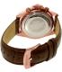 Invicta Men's Speedway 10712 Brown Leather Quartz Watch - Back Image Swatch