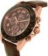 Invicta Men's Speedway 10712 Brown Leather Quartz Watch - Side Image Swatch