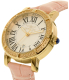 Invicta Women's Special Edition 13968 Pink Leather Quartz Watch - Side Image Swatch