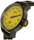 Invicta Men's S1 Rally 17700 Black Leather Swiss Quartz Watch - Side Image Swatch