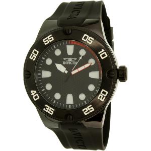 Invicta Men's Pro Diver 18026SYB Black Silicone Quartz Watch