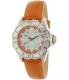 Invicta Women's Pro Diver 18491 Orange Leather Quartz Watch - Main Image Swatch