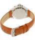 Invicta Women's Pro Diver 18491 Orange Leather Quartz Watch - Back Image Swatch