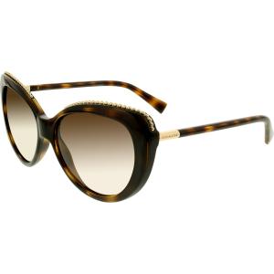 Coach Women's  HC8157-512013-56 Tortoiseshell Cat Eye Sunglasses