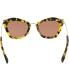 Miu Miu Women's  MU10NS-7S00A0-55 Tortoiseshell Butterfly Sunglasses - Back Image Swatch