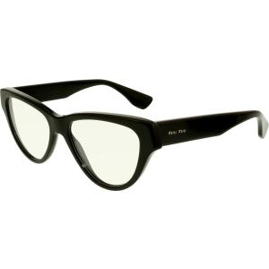 Miu Miu Women's  MU10NV-1AB1O1-52 Black Butterfly Sunglasses