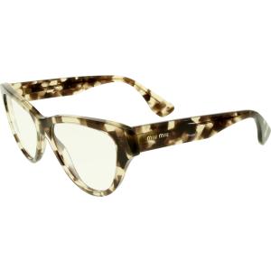 Miu Miu Women's  MU10NV-UAF1O1-52 Tortoiseshell Butterfly Sunglasses