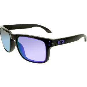 Oakley Men's Polarized Holbrook OO9102-67 Black Square Sunglasses