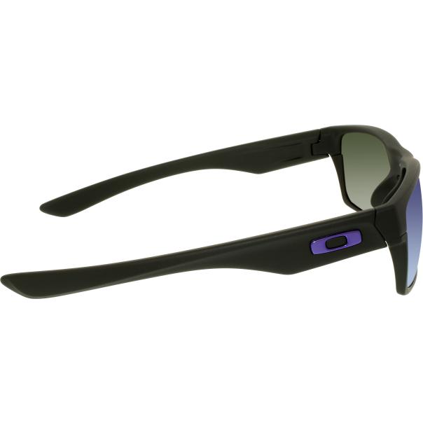 oakley men 39 s two face oo9256 05 black rectangle sunglasses. Black Bedroom Furniture Sets. Home Design Ideas