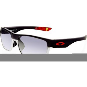Oakley Men's Two Face OO9256-08 Black Rectangle Sunglasses