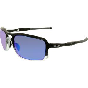 Oakley Men's Triggerman OO9266-04 Black Rectangle Sunglasses