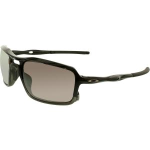 Oakley Men's Triggerman OO9266-06 Black Rectangle Sunglasses