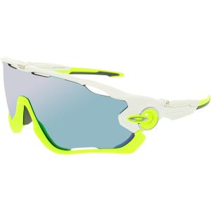 Oakley Men's Jawbreaker OO9270-02 White Shield Sunglasses