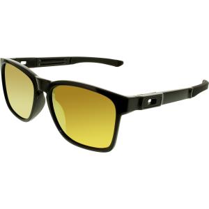 Oakley Men's Catalyst OO9272-04 Black Square Sunglasses