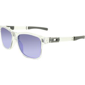 Oakley Men's Catalyst OO9272-05 Clear Square Sunglasses