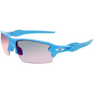 Oakley Men's Flak 2.0 OO9295-03 Blue Semi-Rimless Sunglasses