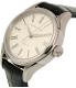 Hamilton Women's Valiant H39415654 Navy Leather Swiss Automatic Watch - Side Image Swatch