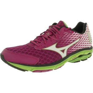 Mizuno Women's Wave Rider 18 Ankle-High Synthetic Running Shoe