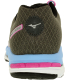 Mizuno Women's Wave Enigma 4 Ankle-High Synthetic Running Shoe - Back Image Swatch
