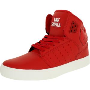 Supra Men's Atom High-Top Suede Fashion Sneaker
