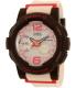 Casio Women's Baby-G BGA180-4B4 Multicolor Plastic Quartz Watch - Main Image Swatch