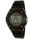 Casio Men's W216H-1AV Black Plastic Quartz Watch - Main Image Swatch