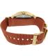 Timex Women's Originals TW2P78200 Maroon Cloth Analog Quartz Watch - Back Image Swatch