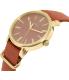 Timex Women's Originals TW2P78200 Maroon Cloth Analog Quartz Watch - Side Image Swatch